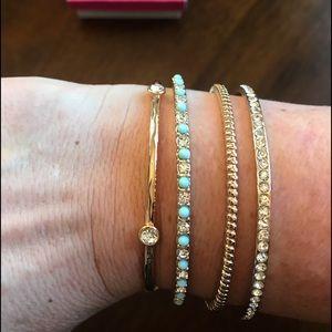 Premier Designs Golden bangles